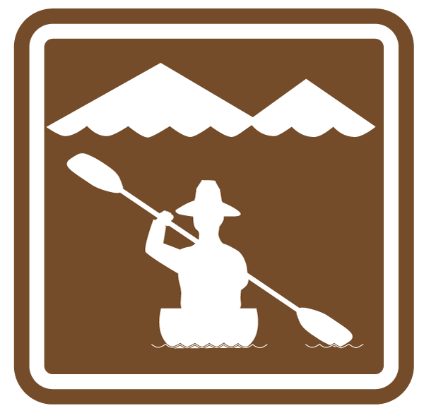 Water trail signage marker