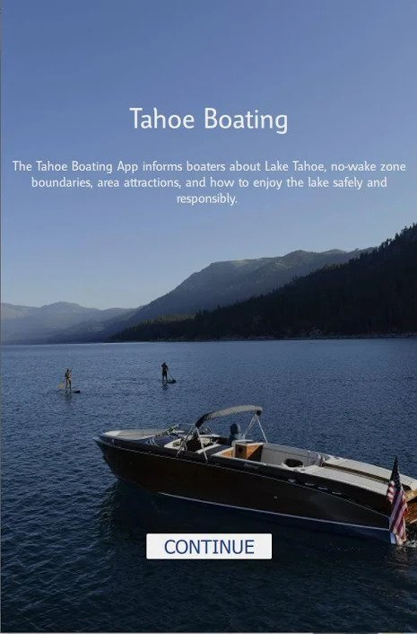 Tahoe Boating App cover image